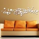 67 daire art house dekoratif sticker kırılmaz ayna modelleri