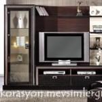 crea compact vitrin bellona mobilya duvar ünitesi