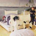 denizci temalı çocuk odası dekorasyonları