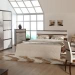 istikbal 2011 starlight koleksiyonu valensia 6 kapaklı ceviz beyaz yatak odası takımı