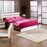 istikbal 2011 starlight koleksiyonu valensia ceviz beyaz yatak odası takımı