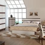 istikbal 2011 starlight koleksiyonu valensia sürgü kapaklı ceviz beyaz yatak odası takımı