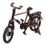 antika ahşap bisiklet