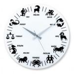 astroloji burç işaretleri duvar saati