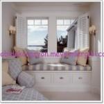 pencere cam önü divan koltuk modelleri 001 dekorasyon resimleri
