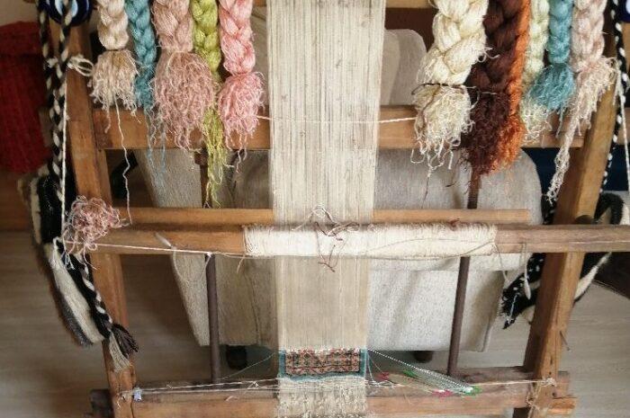 hobi amaçlı 80 santimlik mini halı dokuma tezgahı