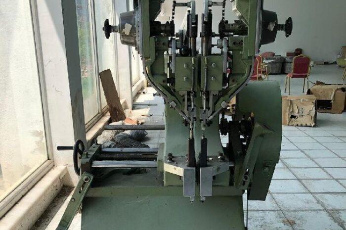 ikinci el perçin makinesi ikili rivet