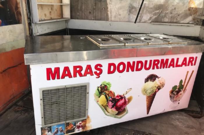 ikinci el dondurma makinesi