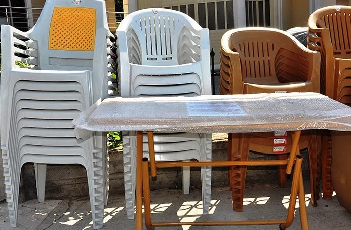 düğün toplantı için ikinci el plastik sandalye